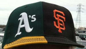 Split A's/Giants Cap
