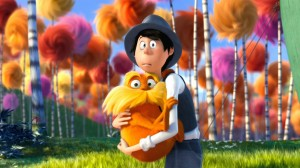 Once-ler holds The Lorax